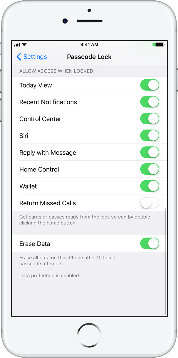 iphone call log settings how to protect missed calls on the lock screen of your iphone 15200
