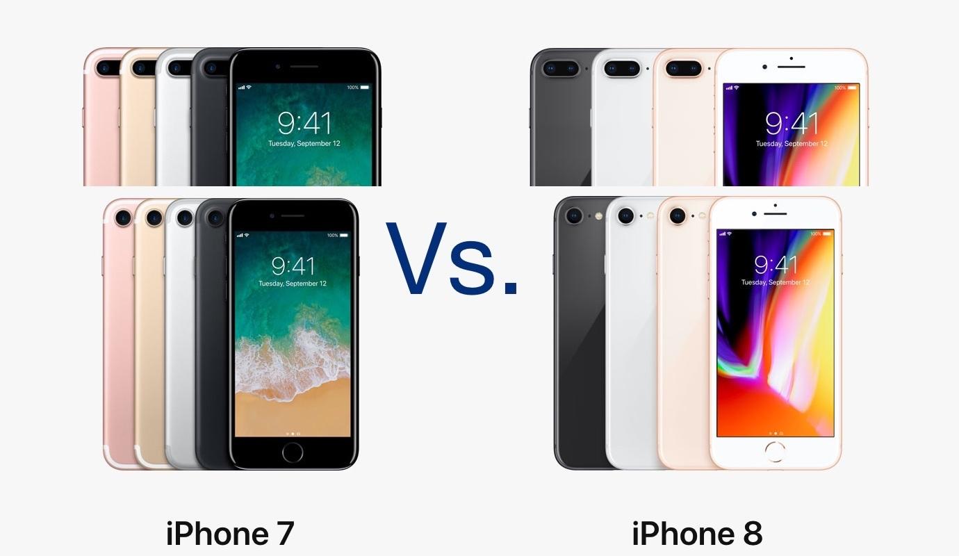 Iphone 8 Vs Iphone 7 Iguales