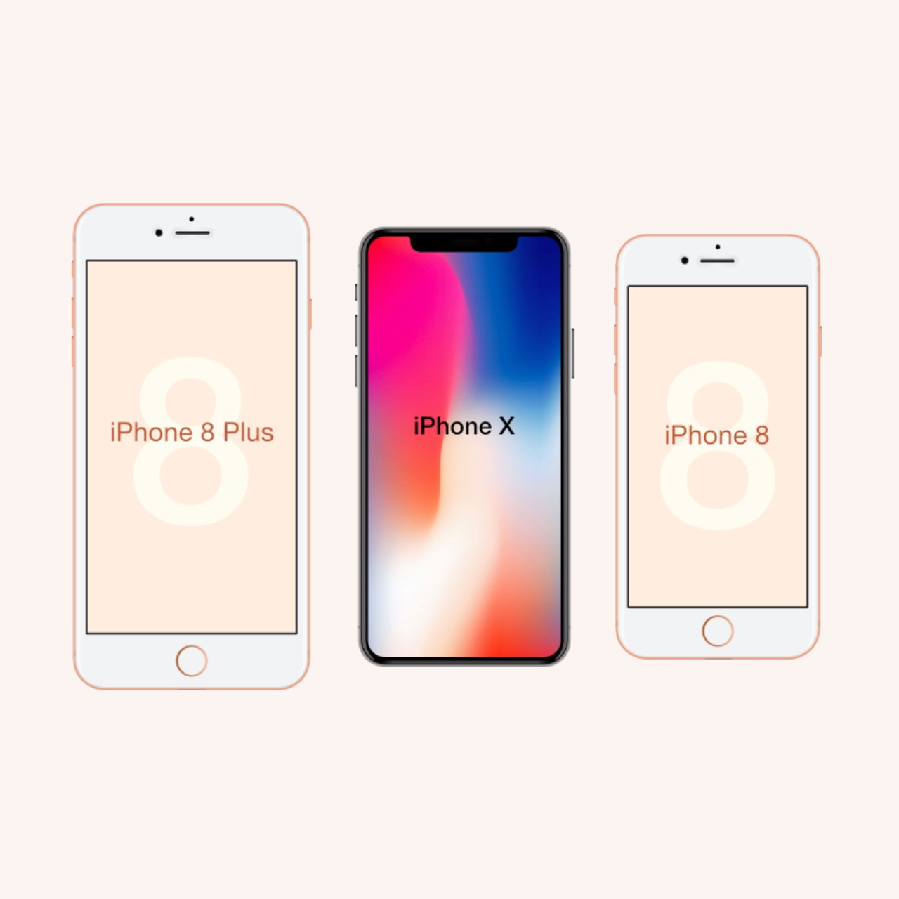 newest iphone out try out the new iphone 8 and iphone x sizes in real 12706