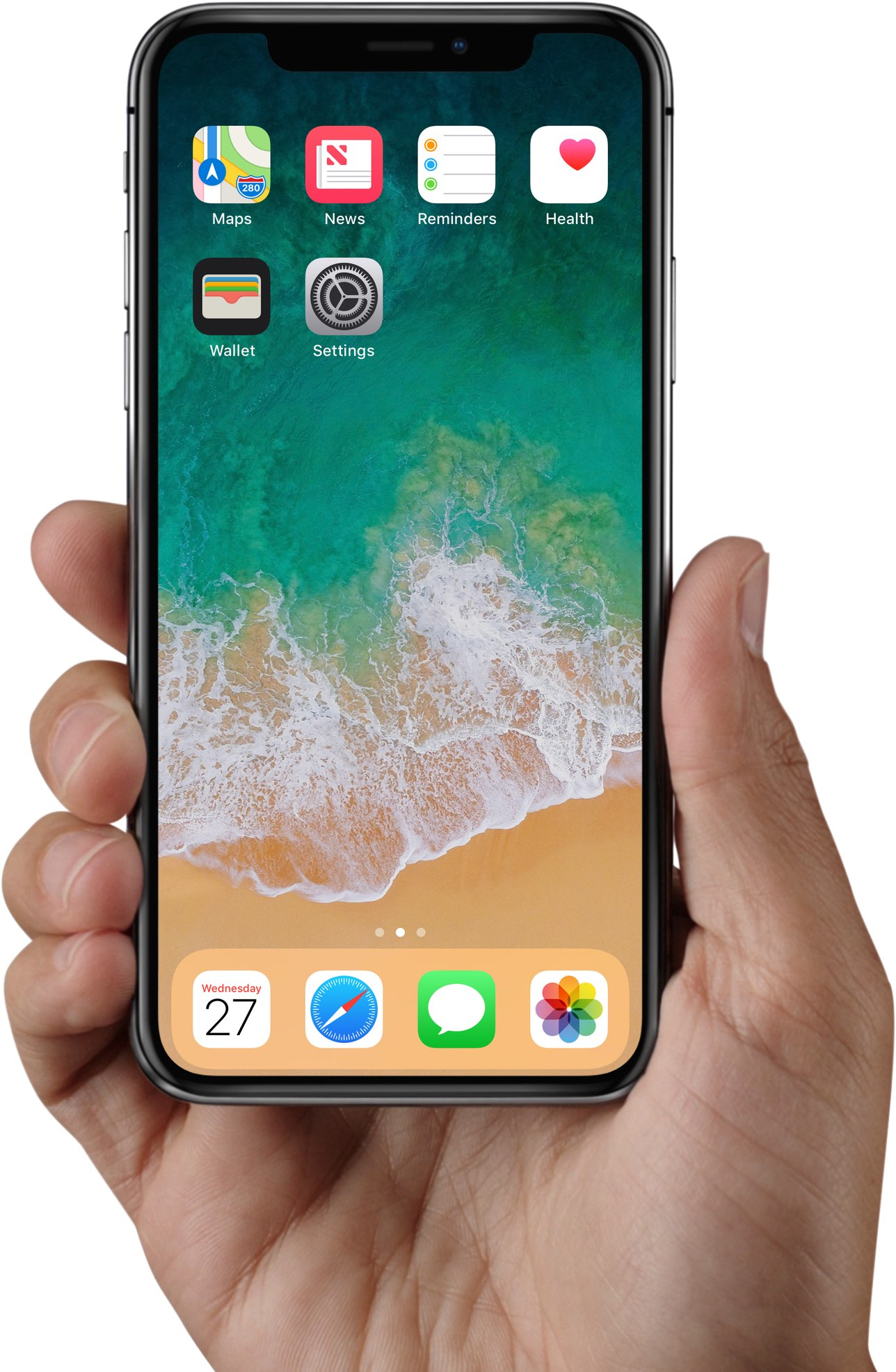 Iphone x home