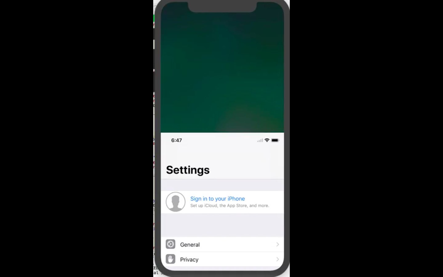 Looks like Apple is working on Reachability support for iPhone X