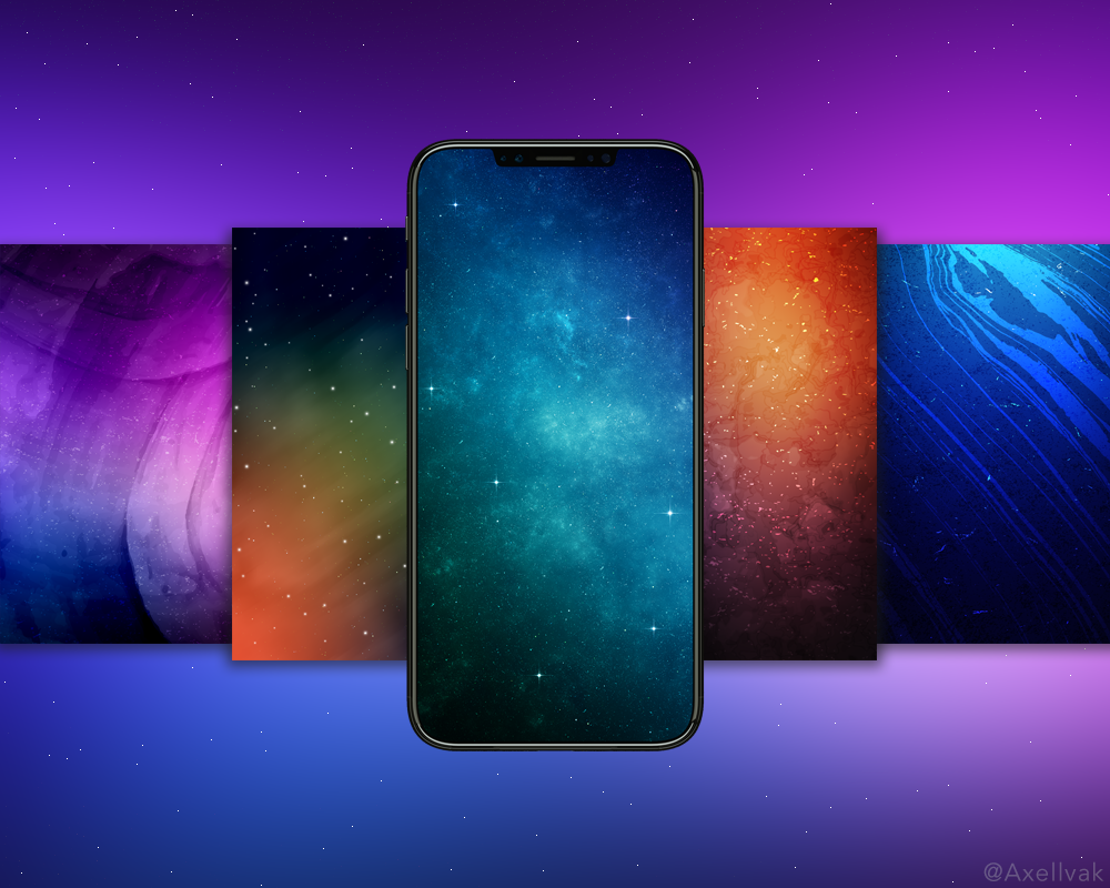 The iPhone X is an incredible machine with an amazing OLED screen. In a special Wallpapers of the Week series, we are releasing ...