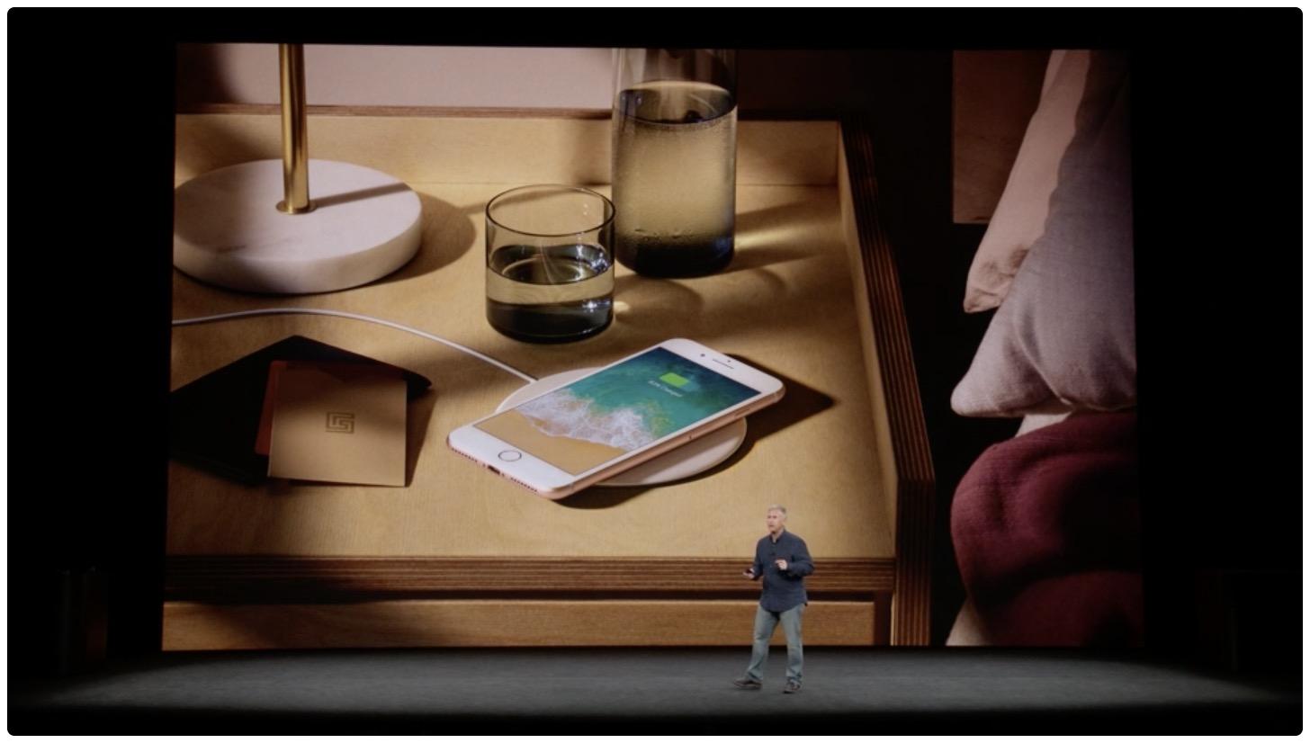 online retailer 8c190 4813c iPhone 8 features Qi wireless charging