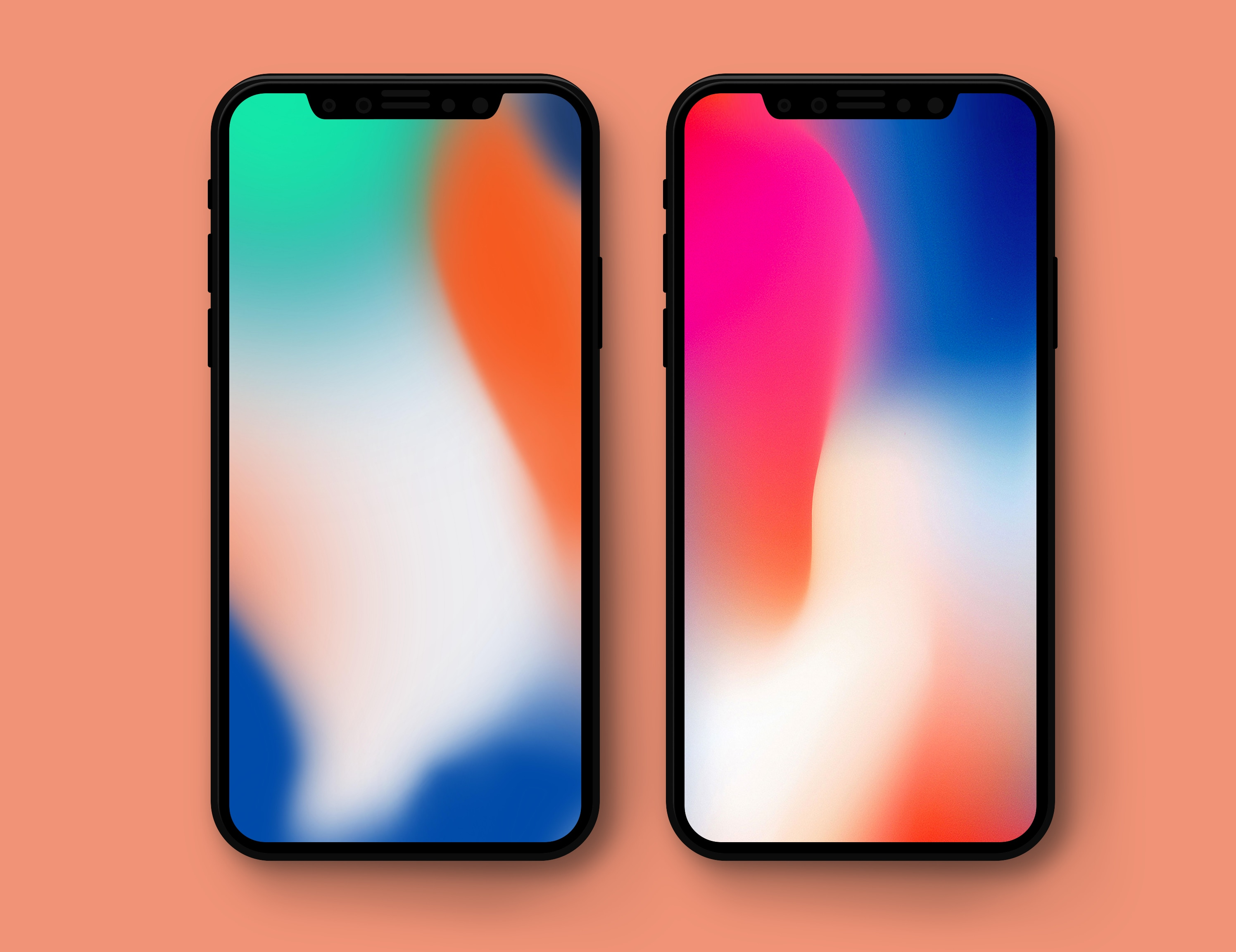IPhone X-inspired Wallpaper Pack