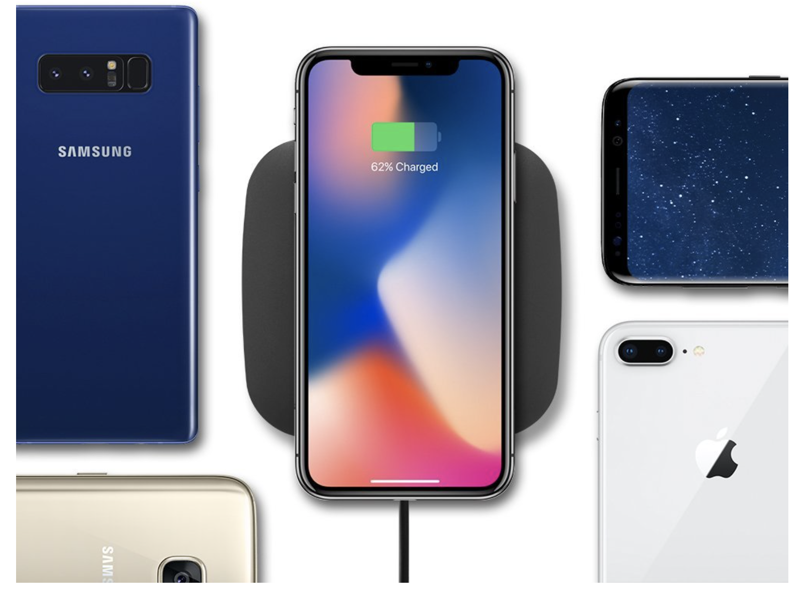 best wireless chargers for iphone 8 and iphone x