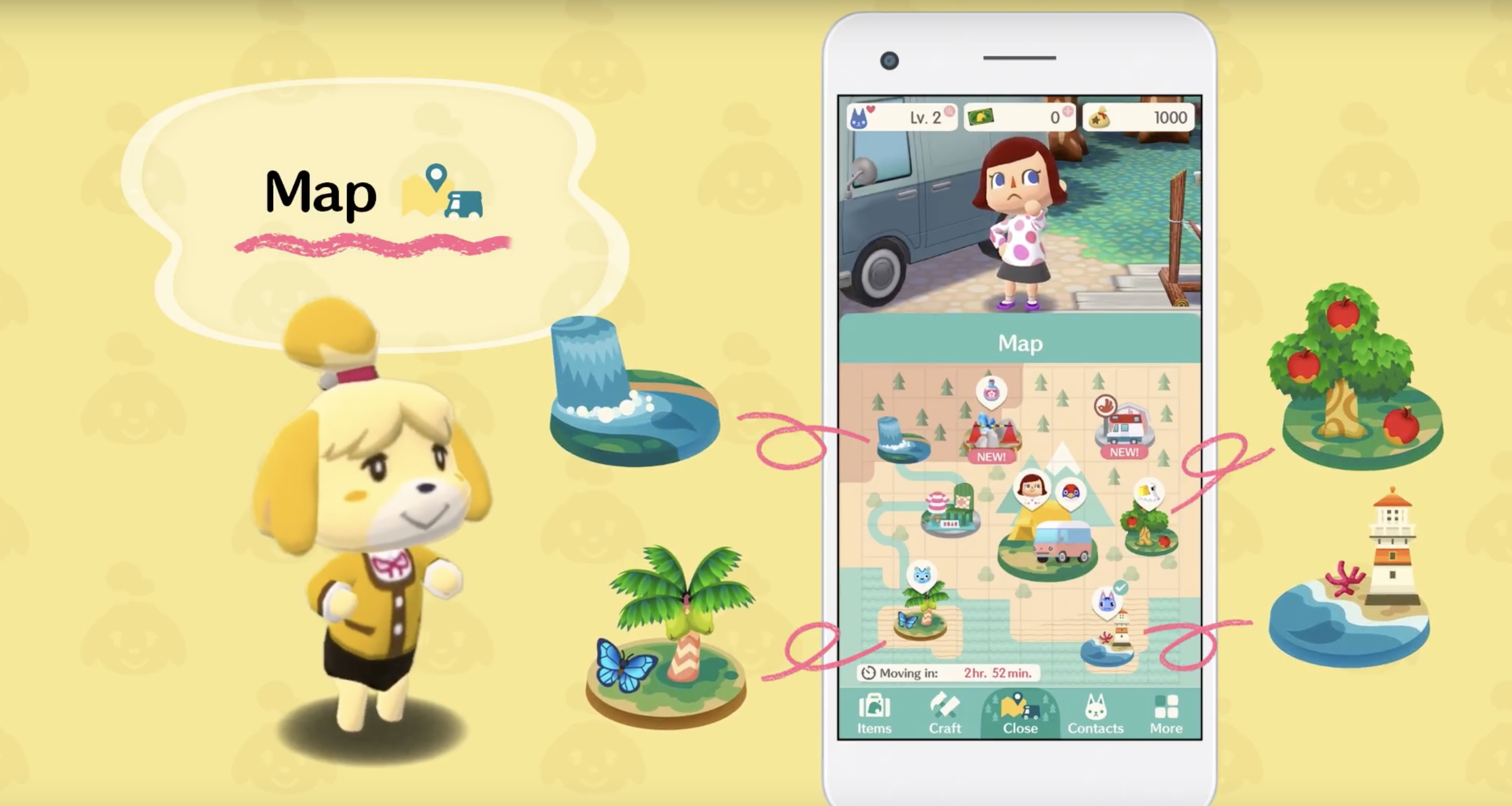 Animal Crossing Pocket Camp Decoration Ideas