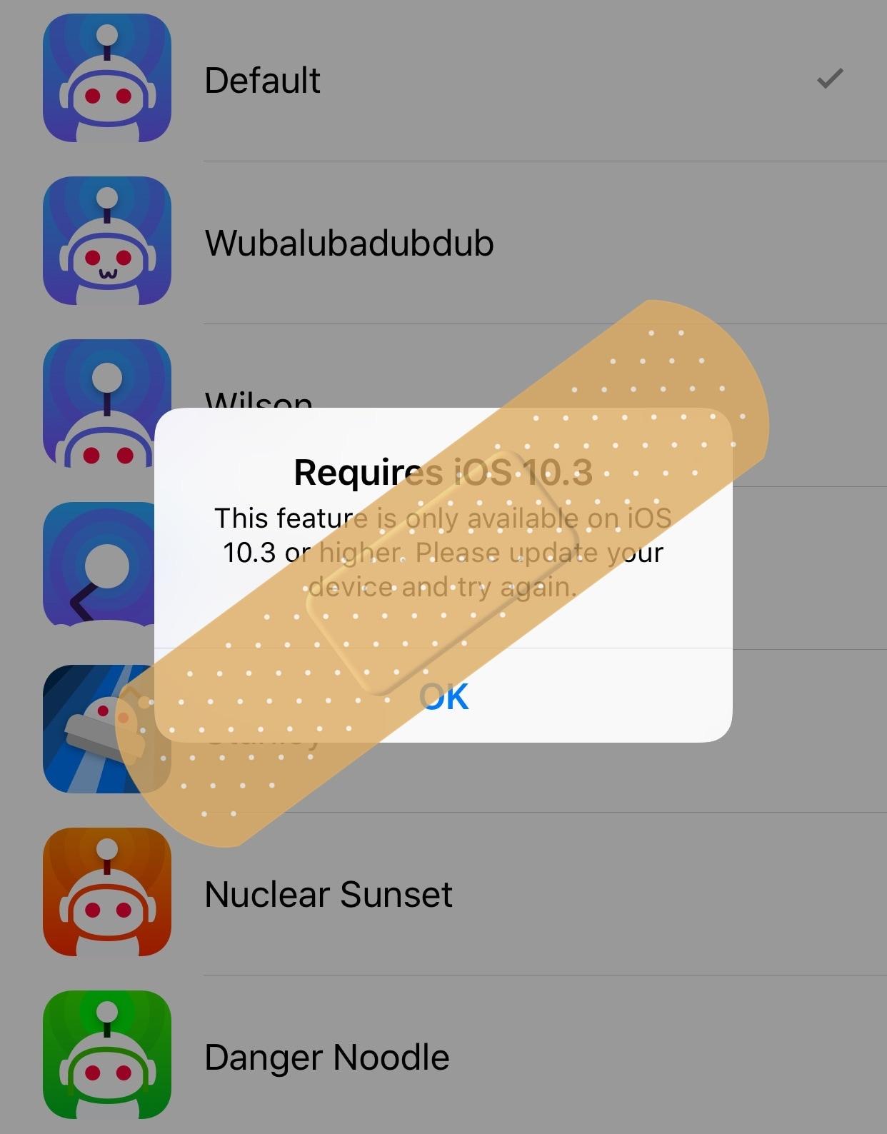 This tweak hides features in the Apollo Reddit client that don't