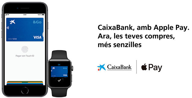 Apple Pay support in Spain extended to CaixaBank and ImaginBank