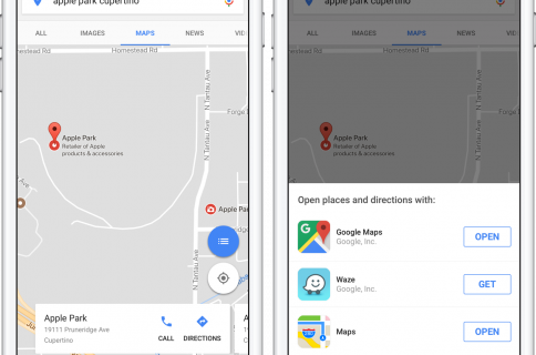 Google Search app gets iOS 7 styling, true full-screen
