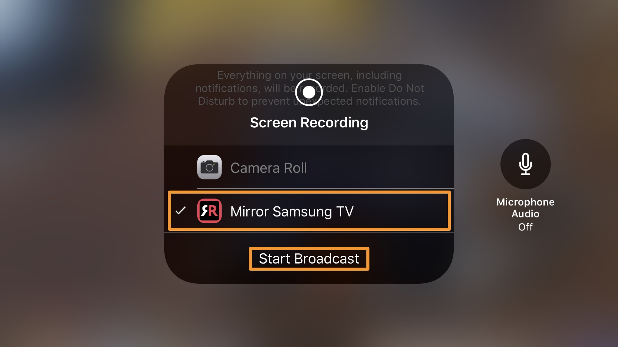 SAMSUNG SMART TV WITH IPHONE