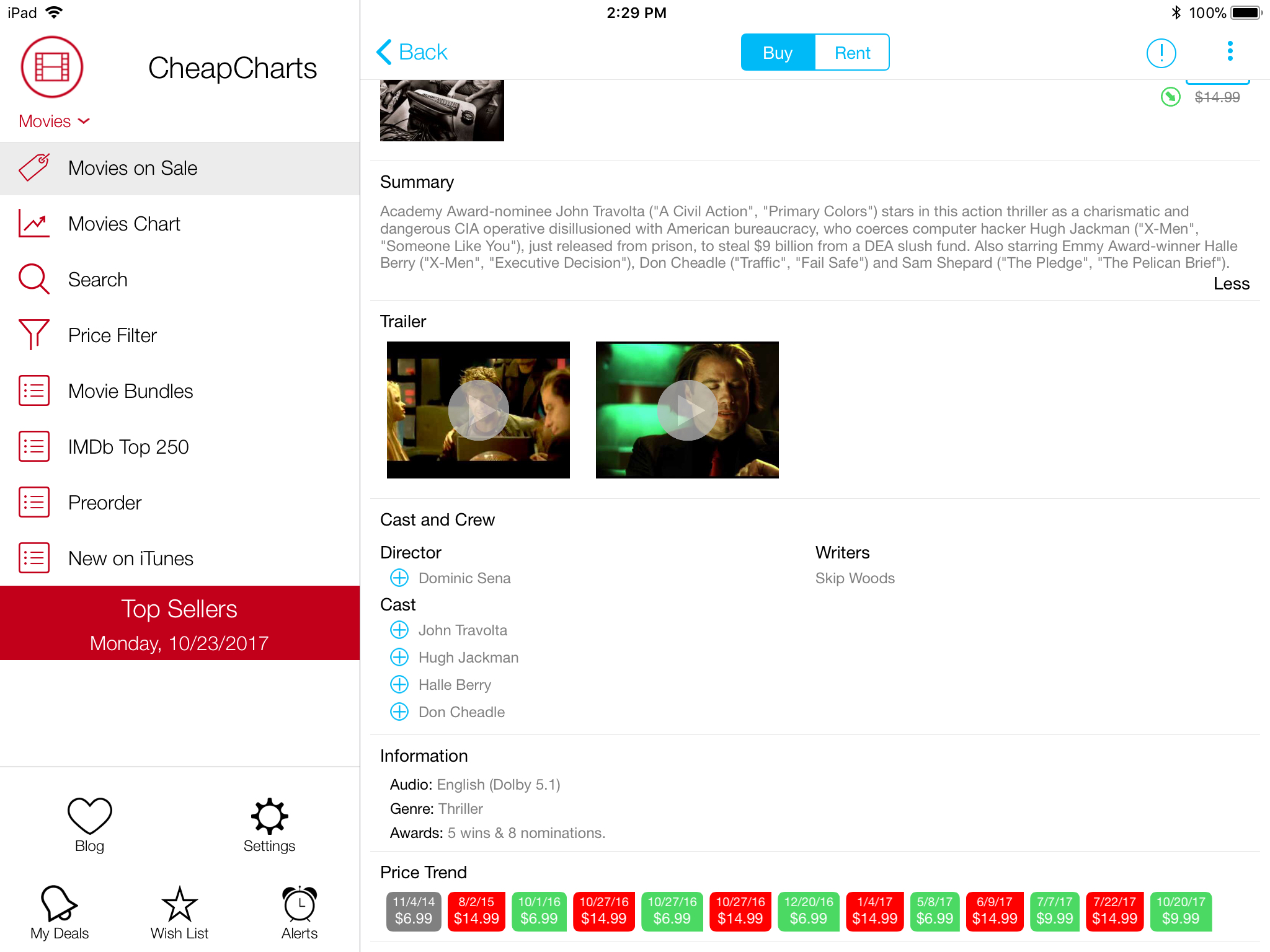 Get the best prices on your favorite iTunes content with CheapCharts