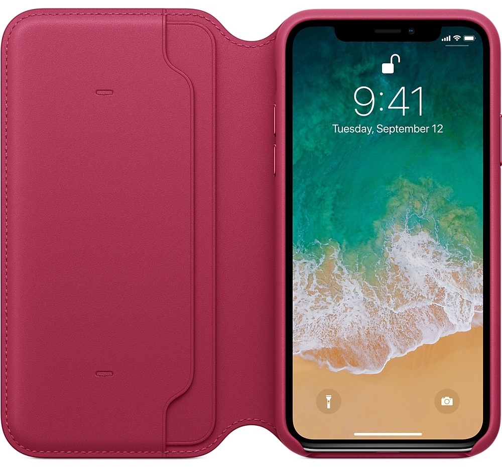 best wallet cases for iphone x - apple iphone x leather folio