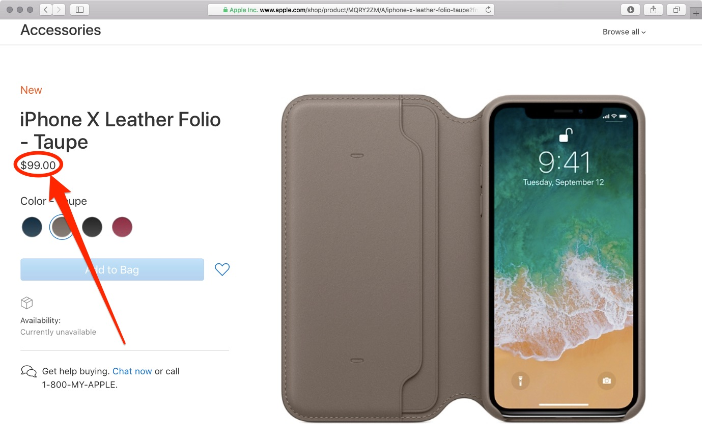 meet 9e534 f17fb Who's willing to shell out $99 for Apple's folio case to go with ...