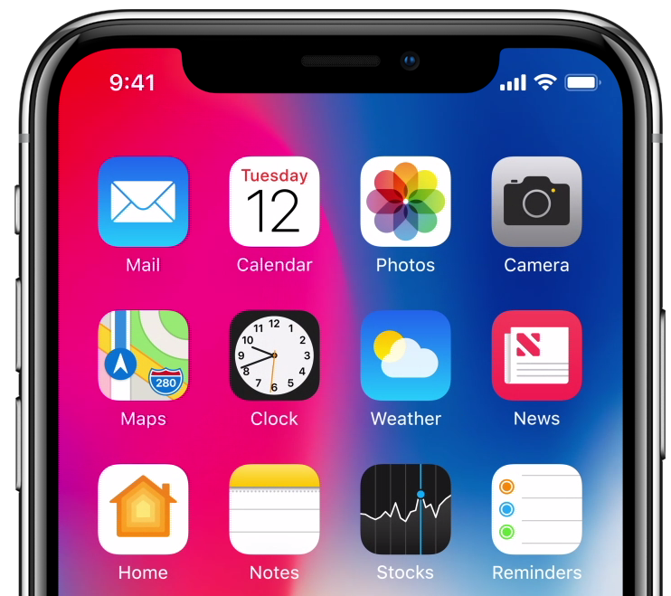 cheap for discount 94b9f 08ab0 How to hide iPhone X's notch on the Lock and Home screen with Notch ...