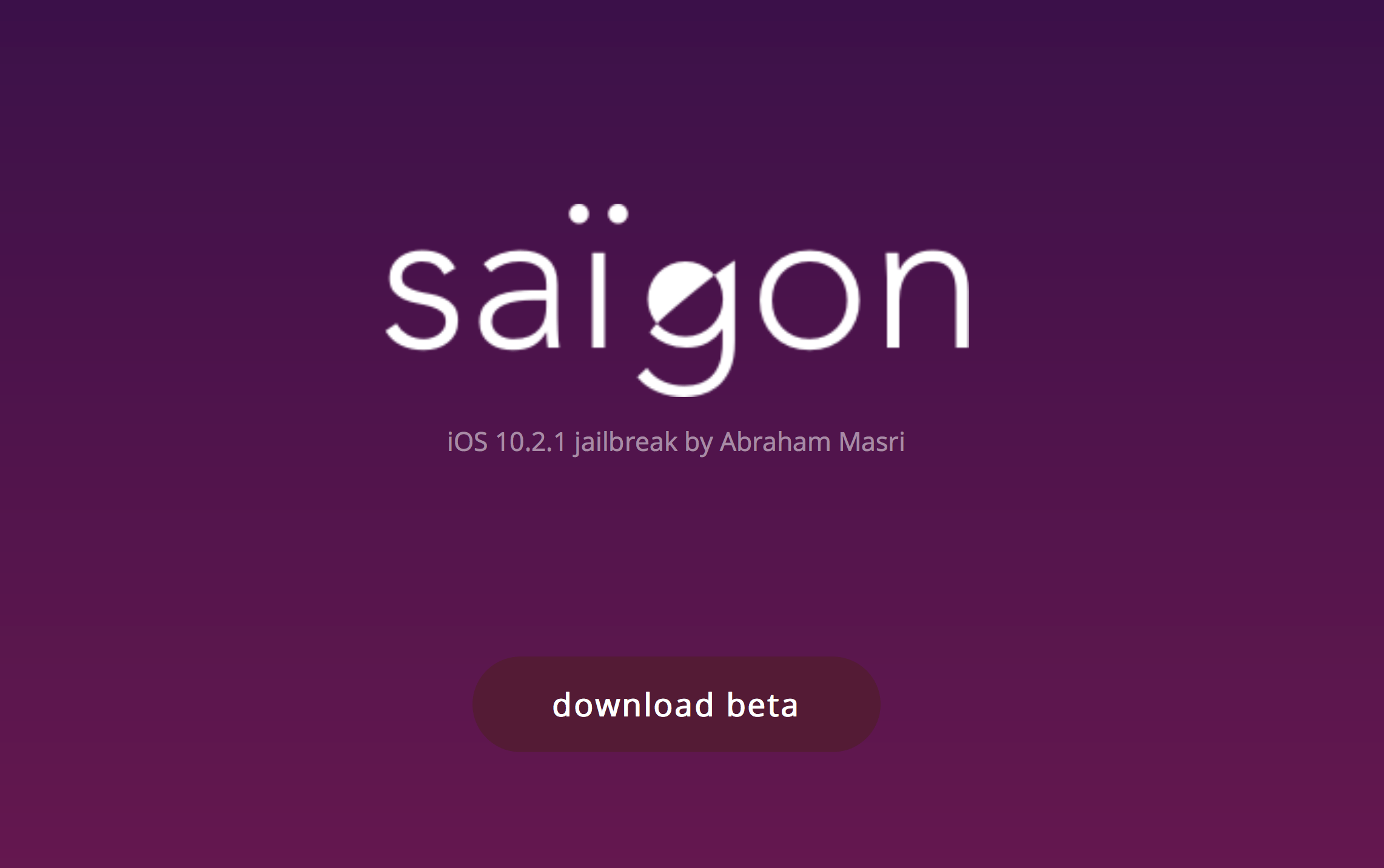 Saïgon jailbreak released for some iOS 10.2.1 64-bit devices, iOS 10.3.1 a possibility