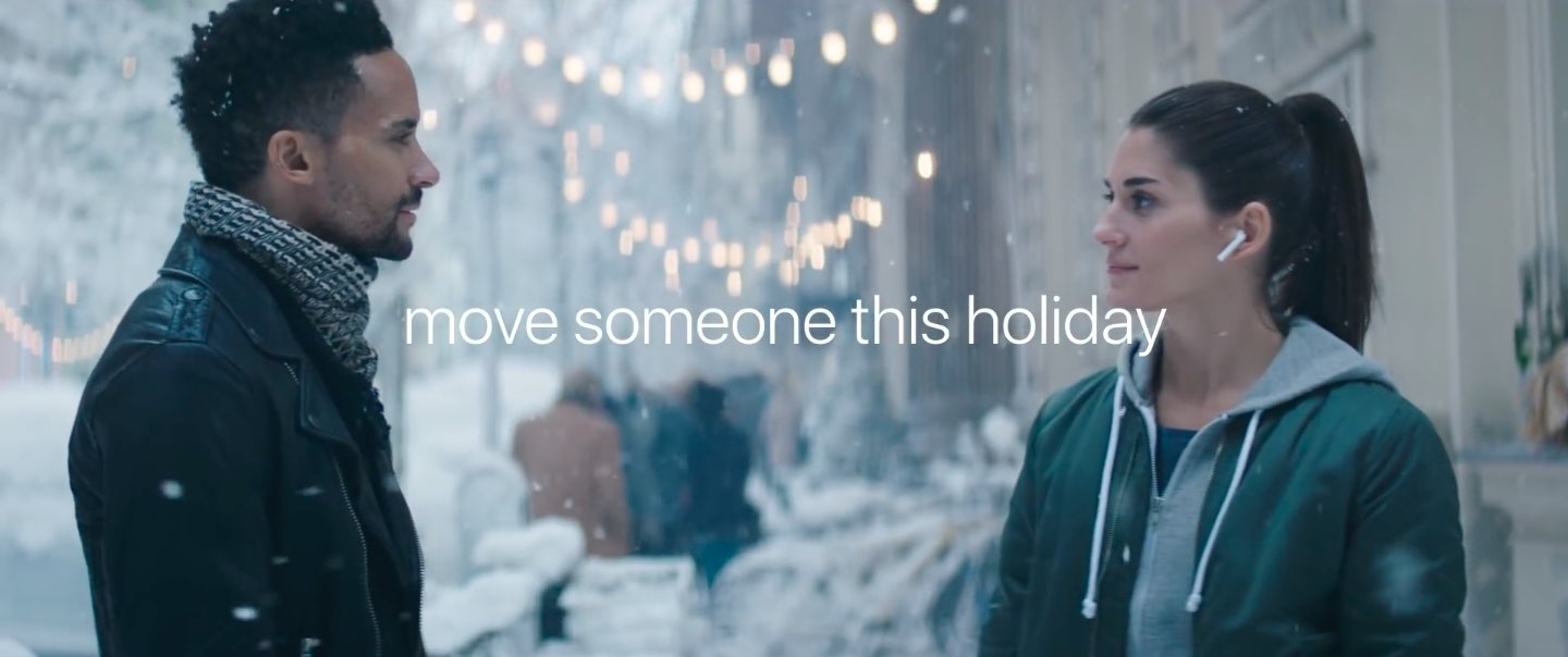 apple has some of the best holiday and christmas ads that ive seen and this moving video is no exceptioni especially liked how they coupled fantasy ballet