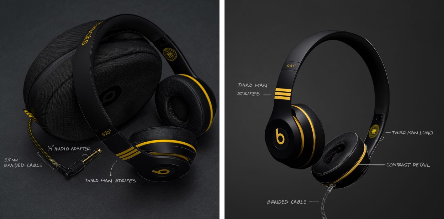 Third Man Records Exclusive Black And Yellow Beats Solo3 Coming November 24