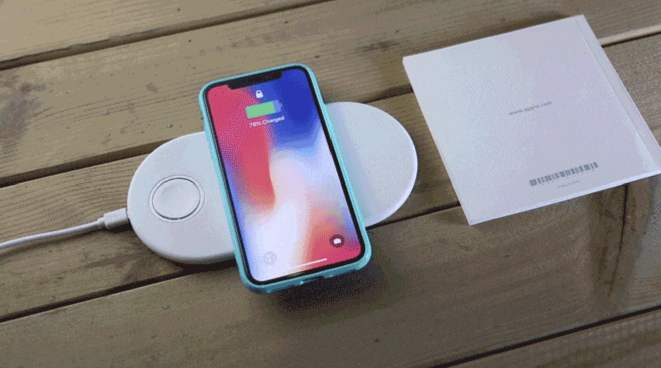 Funxim A Wireless Charging Mat For Your Iphone And Apple