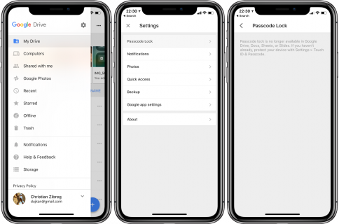 Google updates Docs, Sheets and Slides with iPhone X, iOS 11