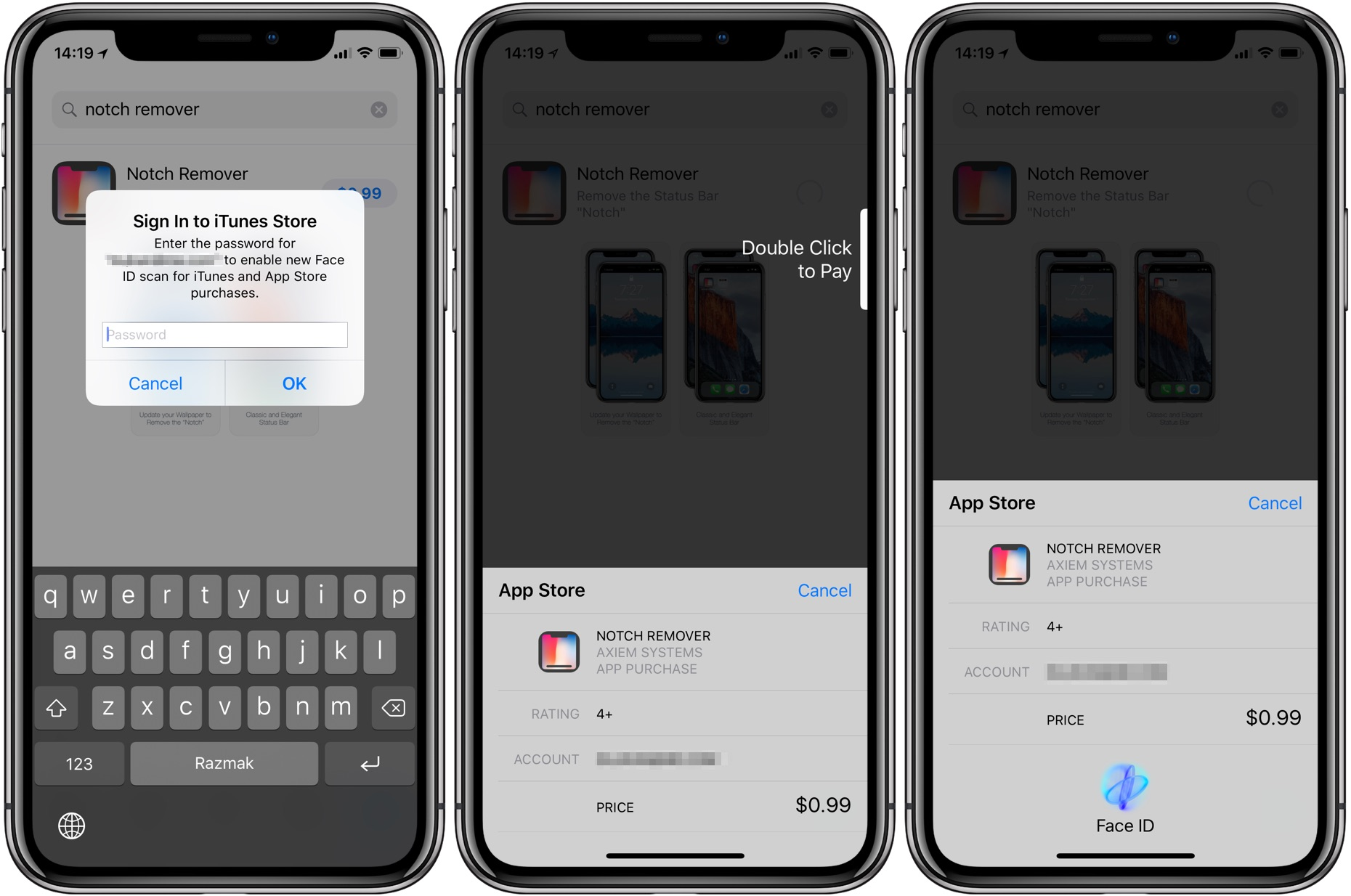 How to buy apps with iPhone X using Face ID