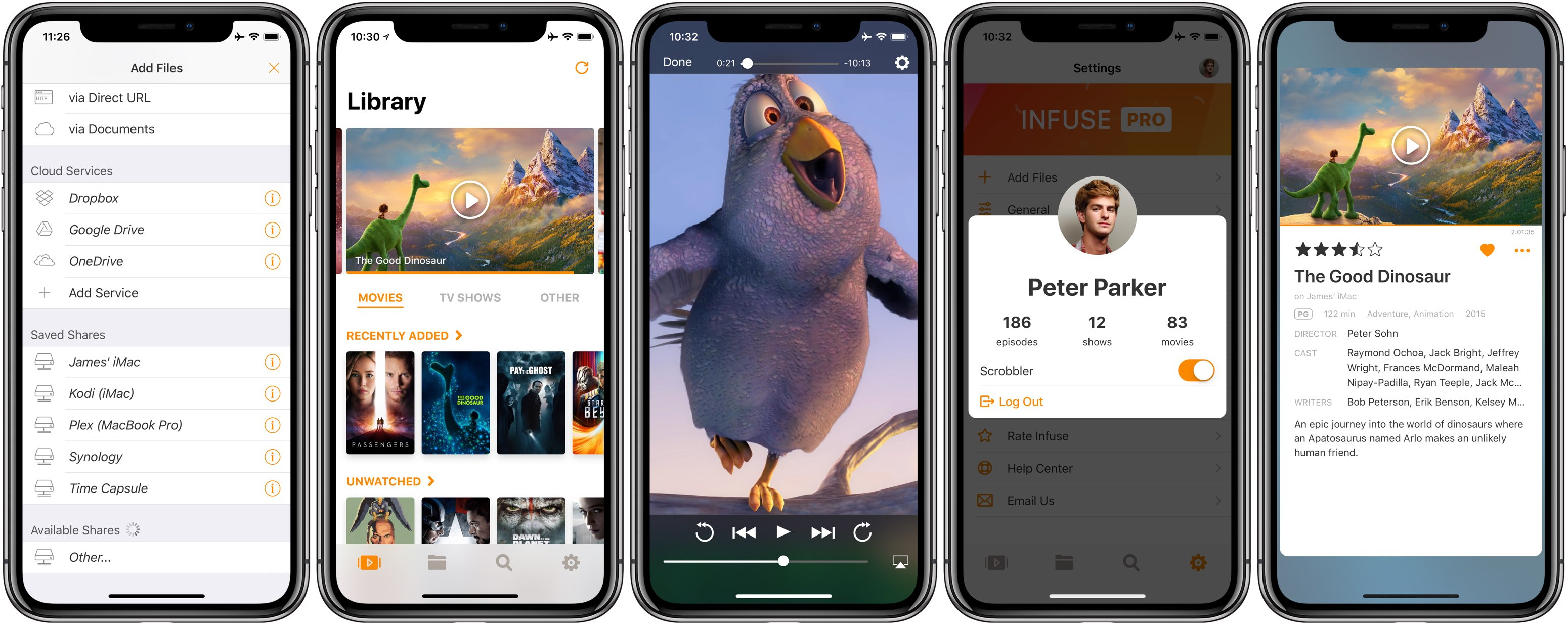 Infuse for iOS gains HDR support & dynamic range conversion on non
