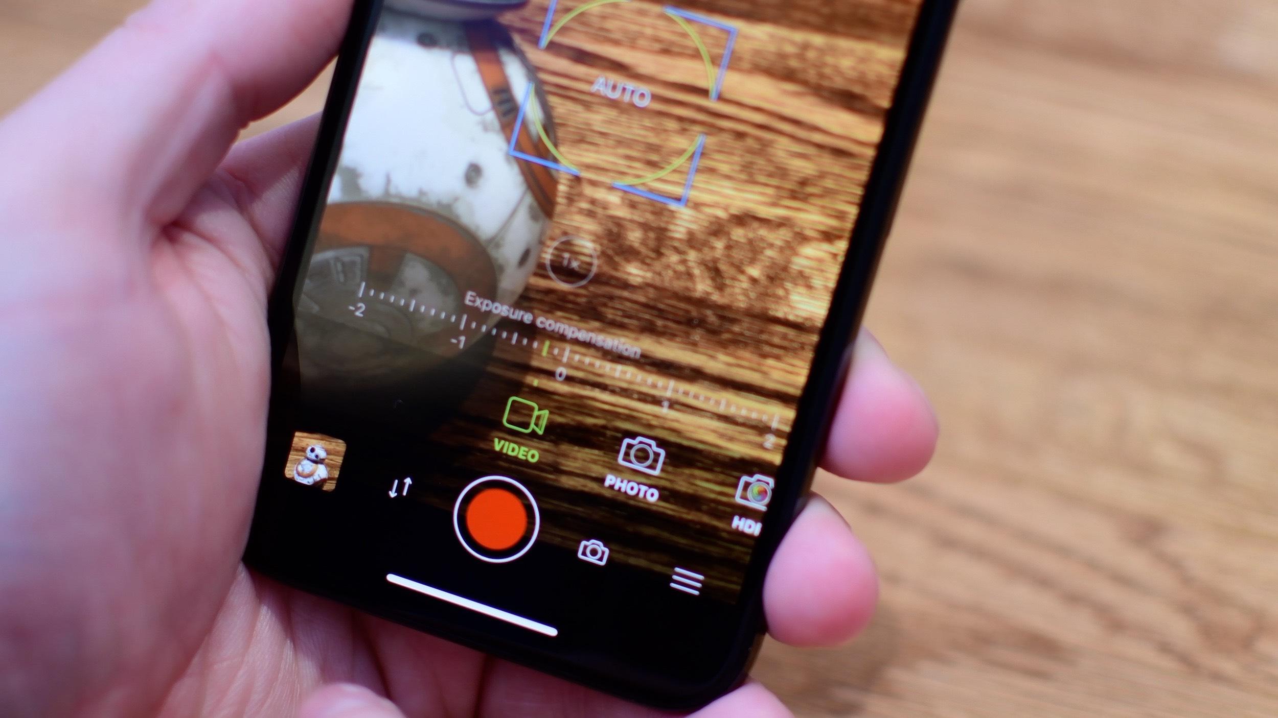 Aplicación ProCamera para iPhone X