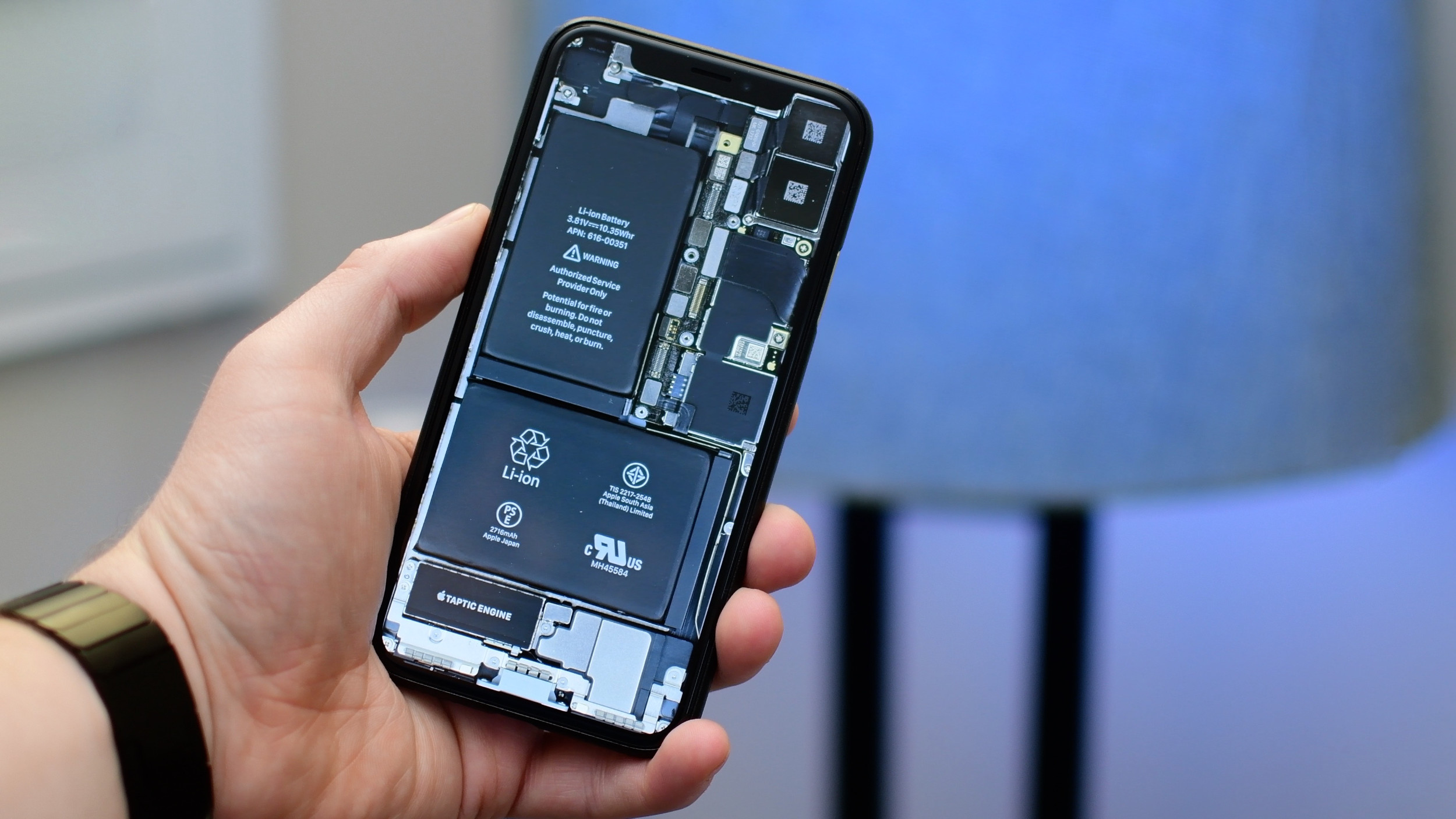 Iphone Wallpaper: IPhone X Internals Wallpaper