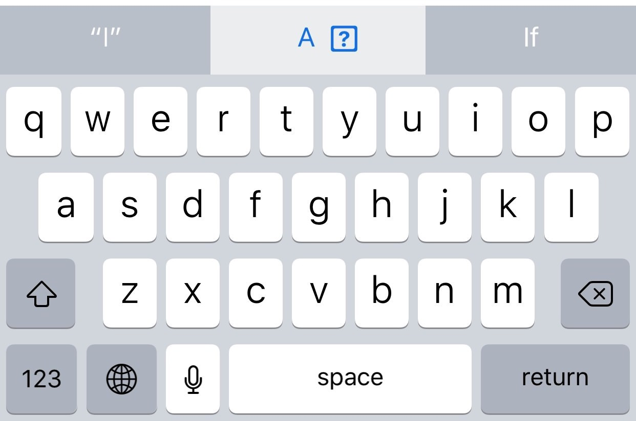 Apples Embarrassing I A Autocorrect Bug Could Be A Machine
