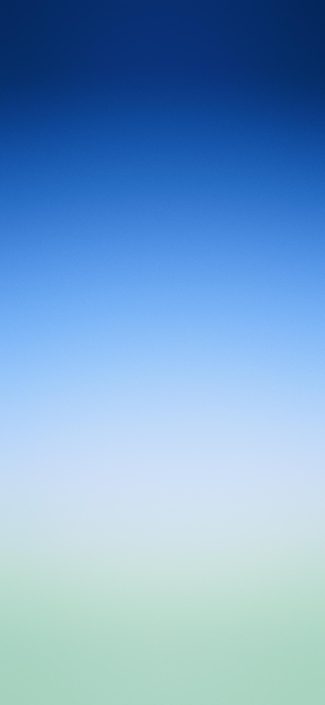 Apple original wallpaper of blue to green gradient