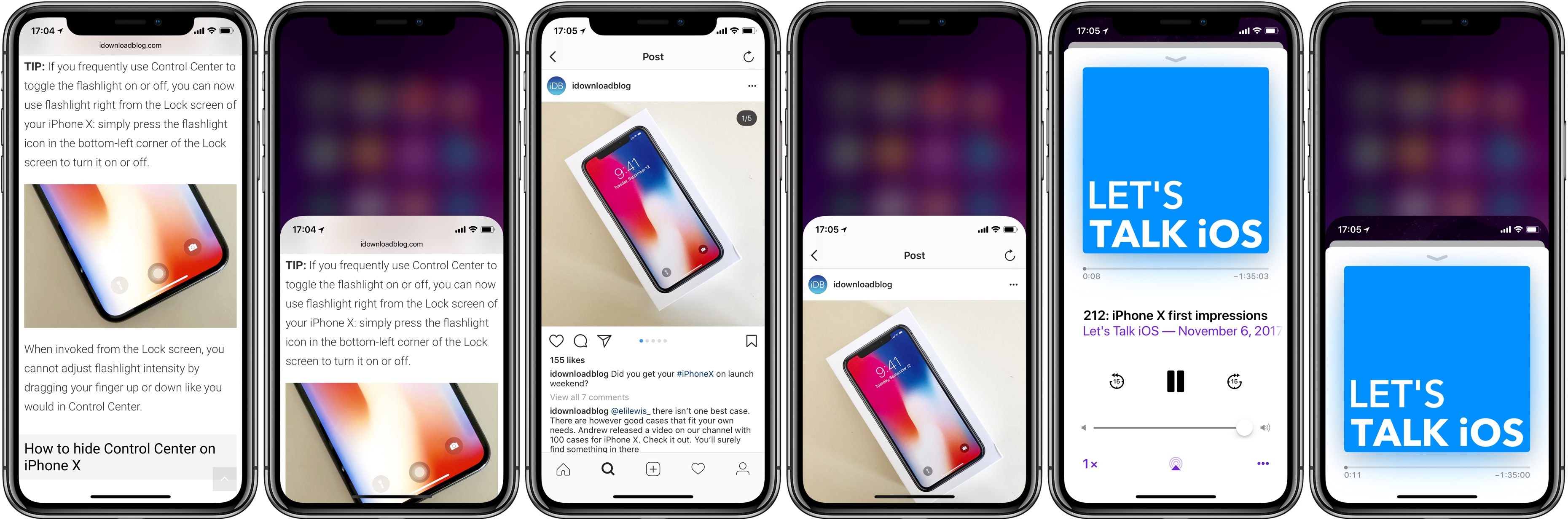 reachability iphone x