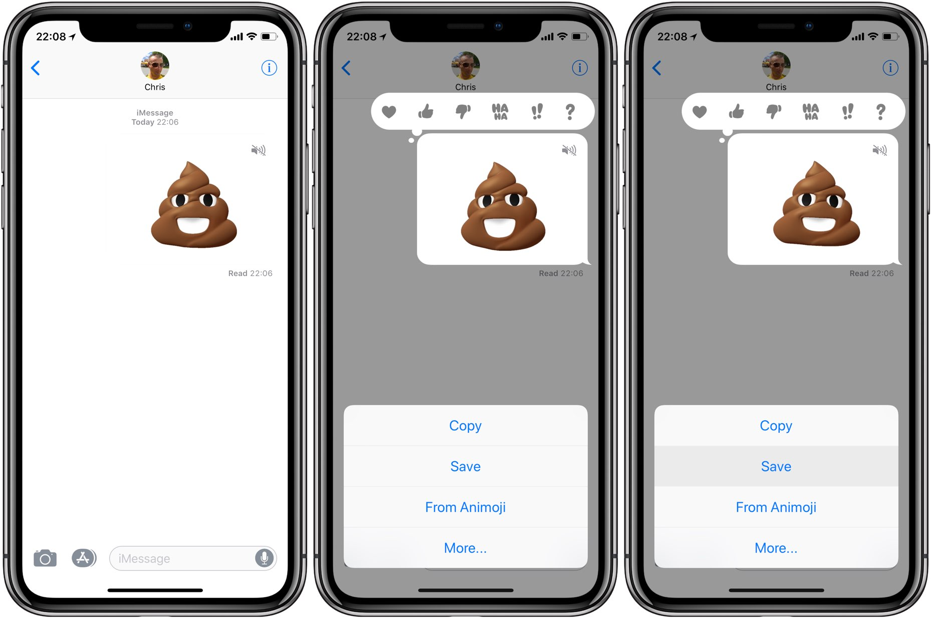 How to create, save & share Animoji