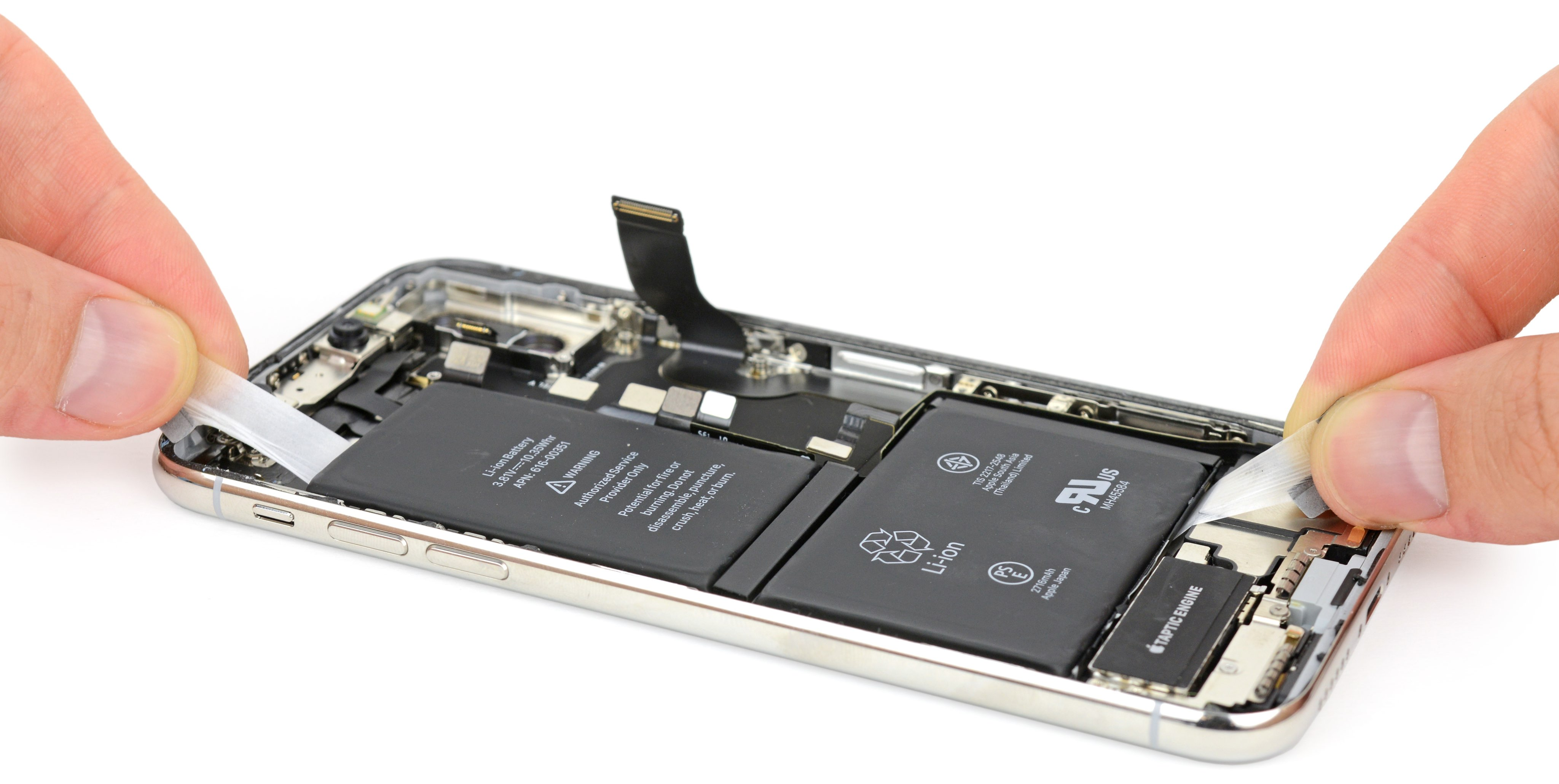 The Addition Of A Second Battery Gives Iphone X Two Extra