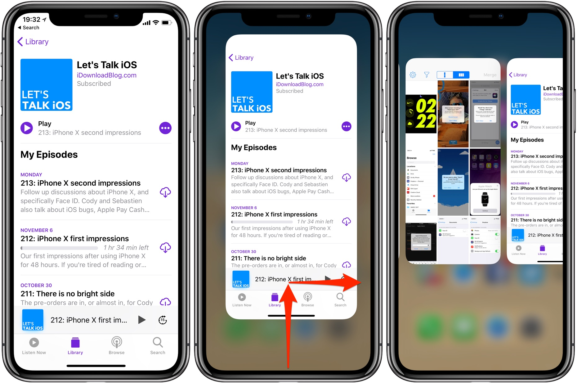 swipe up on iphone 2 ways to get to iphone x s app switcher faster 3218