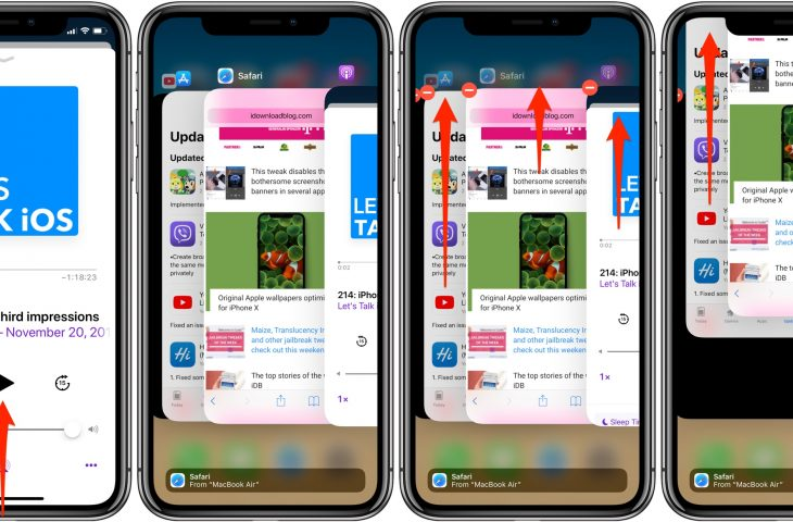Force Quit Apps On Iphone X