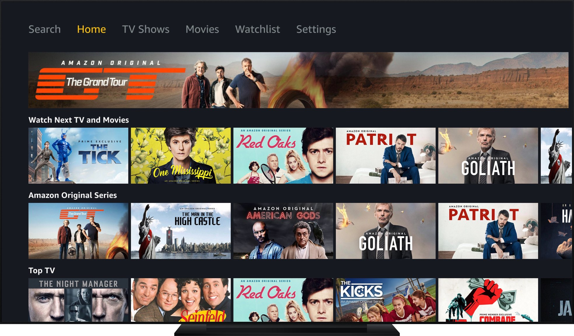 Prime Video for Apple TV lacks support for Dolby Vision and