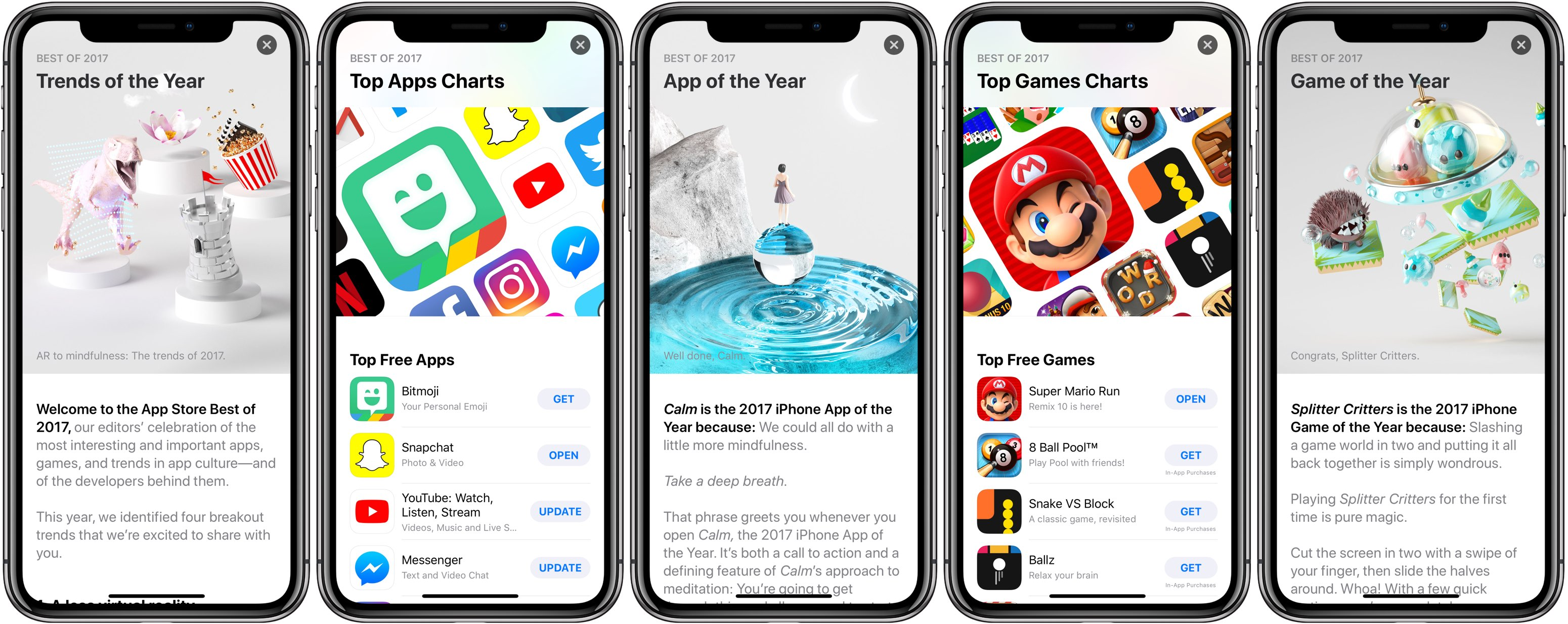 top free iphone games rewind 2017 apple reveals most popular apps 1846