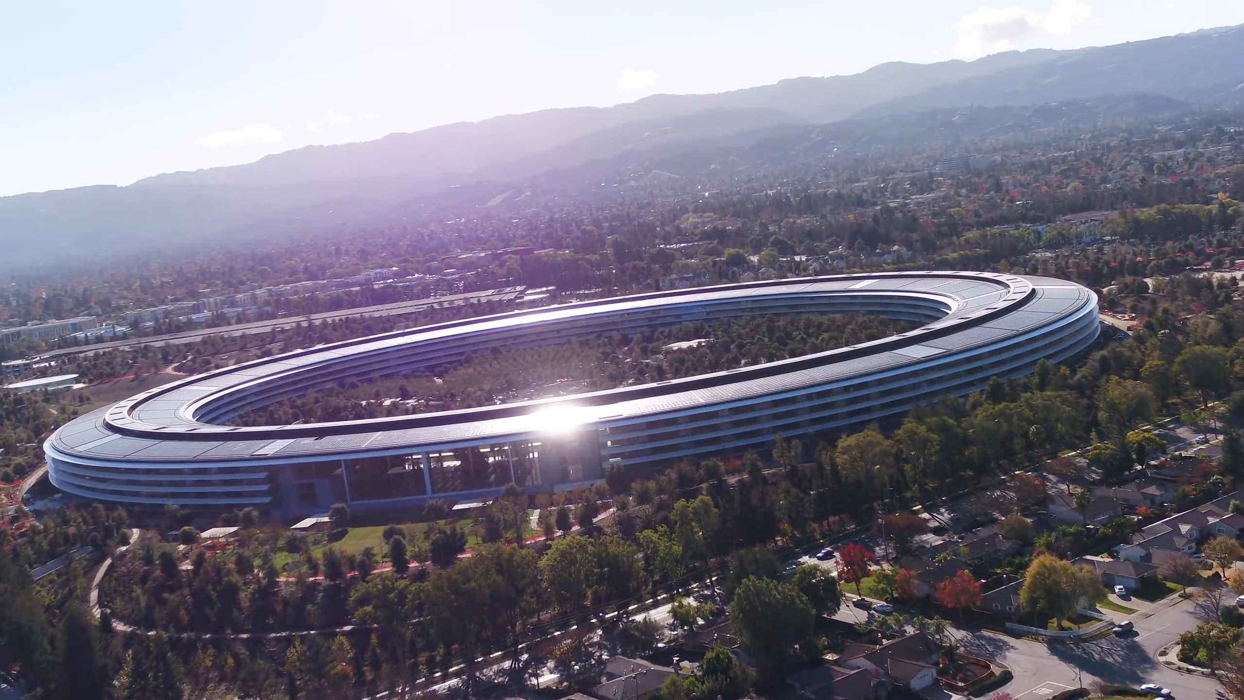 New drone update proves Apple's new headquarters are ...