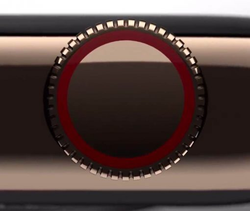 Apple Watch Series 4 Digital Crown closeup