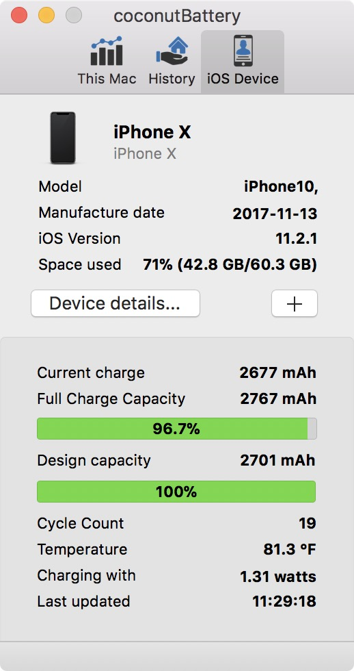 Get more details about your iPhone battery
