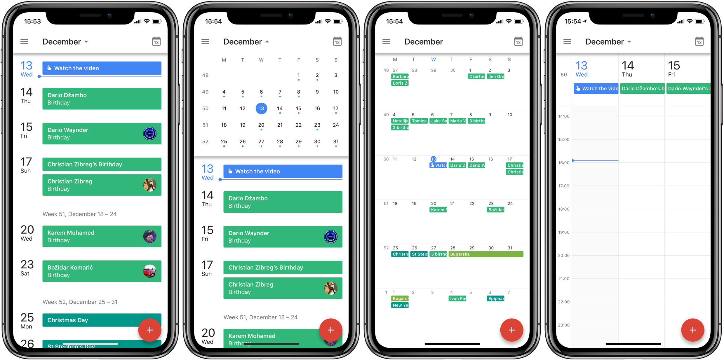 google calendar picks up support for iphone x ios 11 drag and drop on ipad. Black Bedroom Furniture Sets. Home Design Ideas