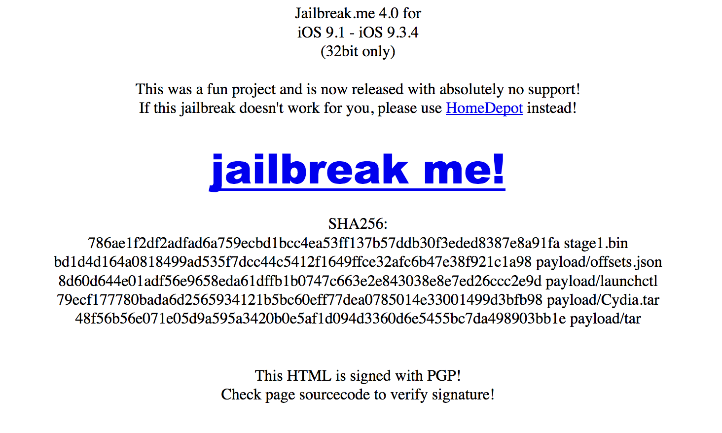 Tihmstar launches JailbreakMe 4 0 for 32-bit iOS 9 1-9 3 4 devices