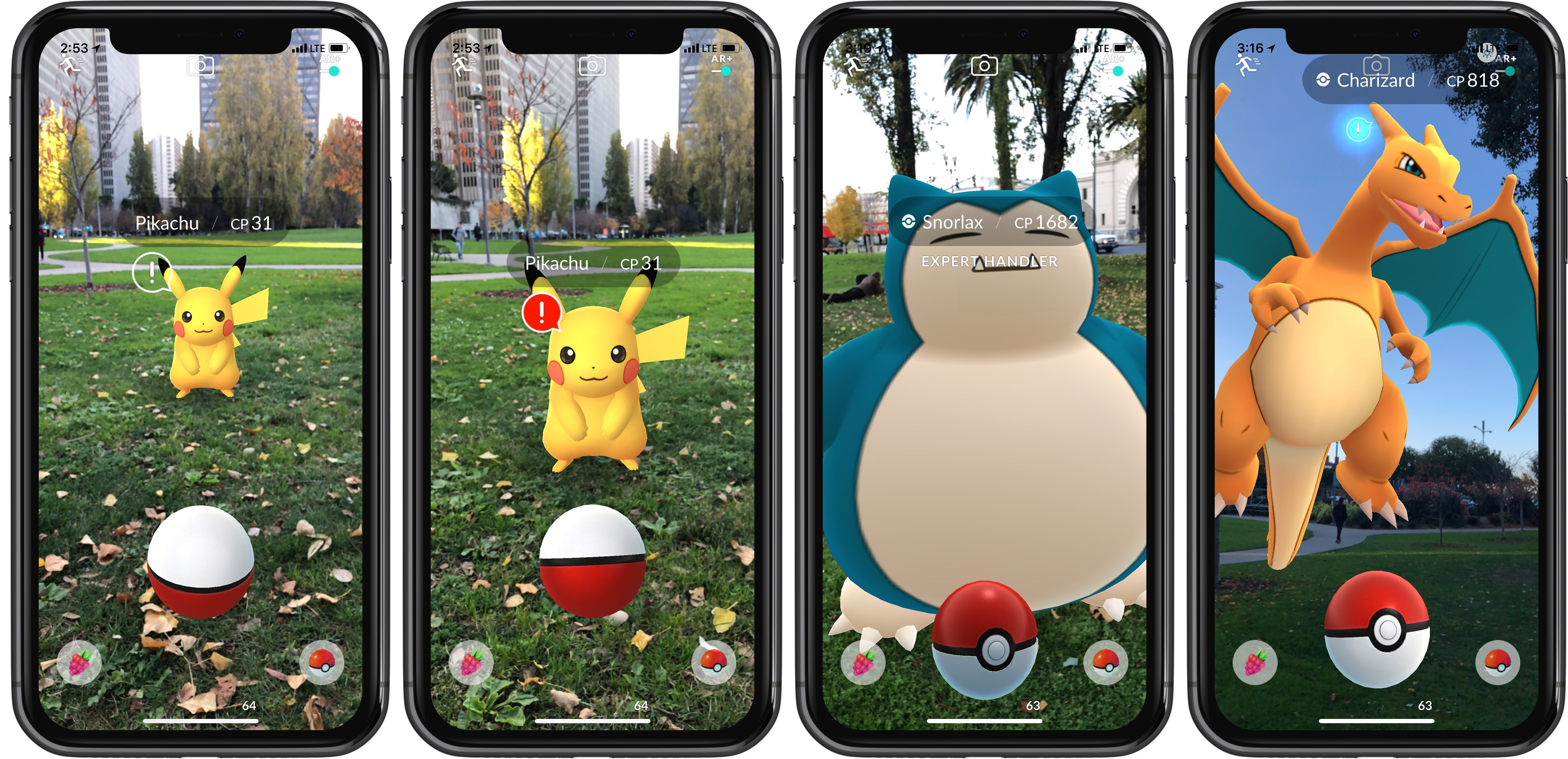 pokemon go pour iphone