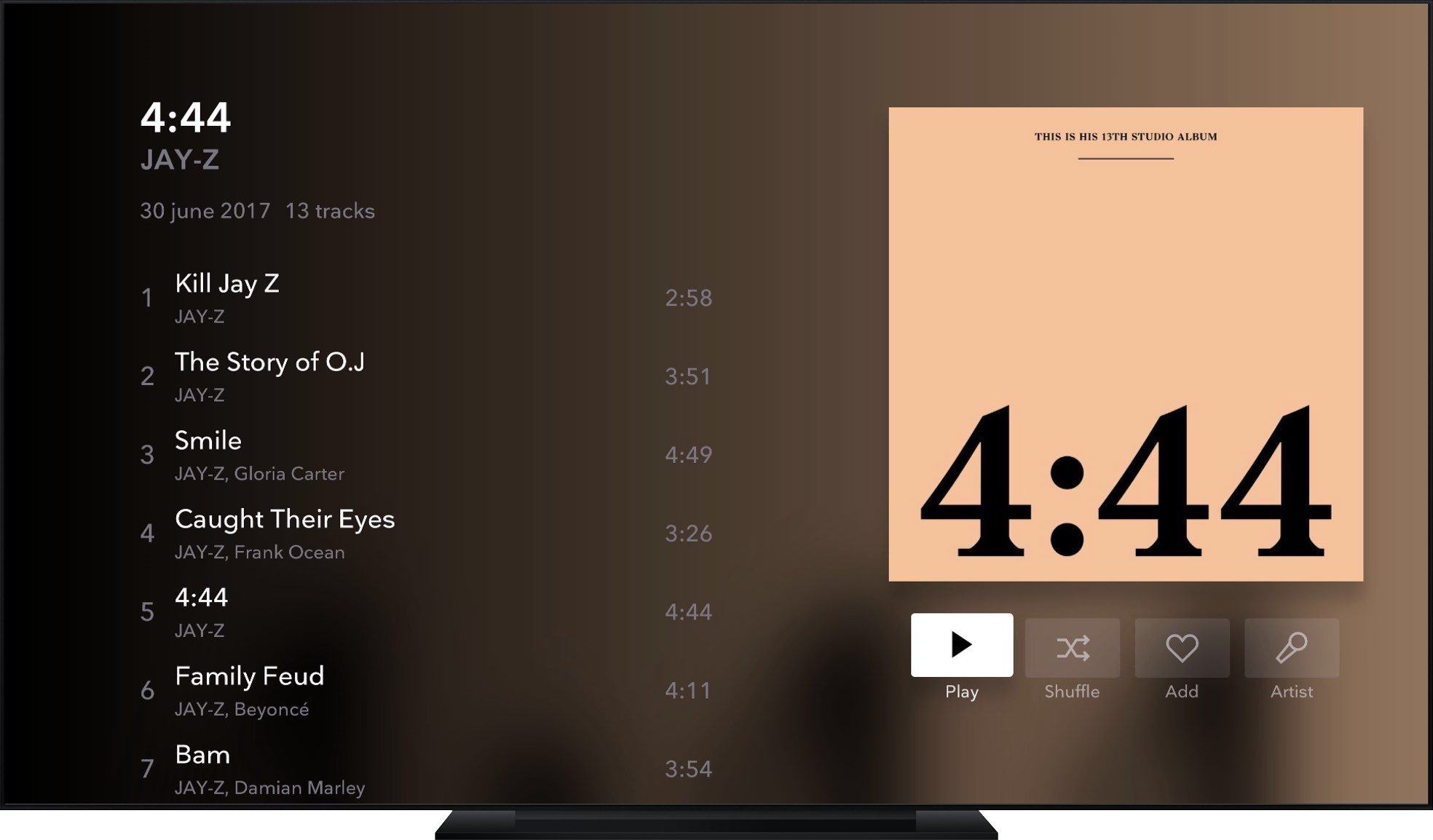 Lossless streaming music service Tidal launches native Apple