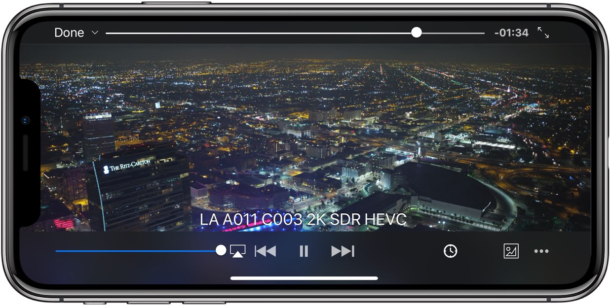 VLC for iOS gains full support for 4K H 265 video & iPhone X display
