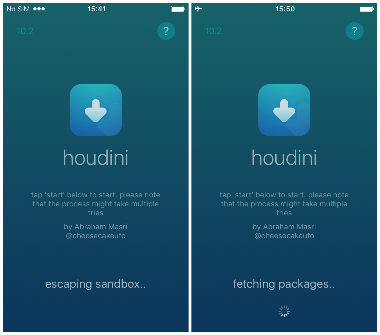 A hands-on tutorial for Houdini, the iOS 10 x