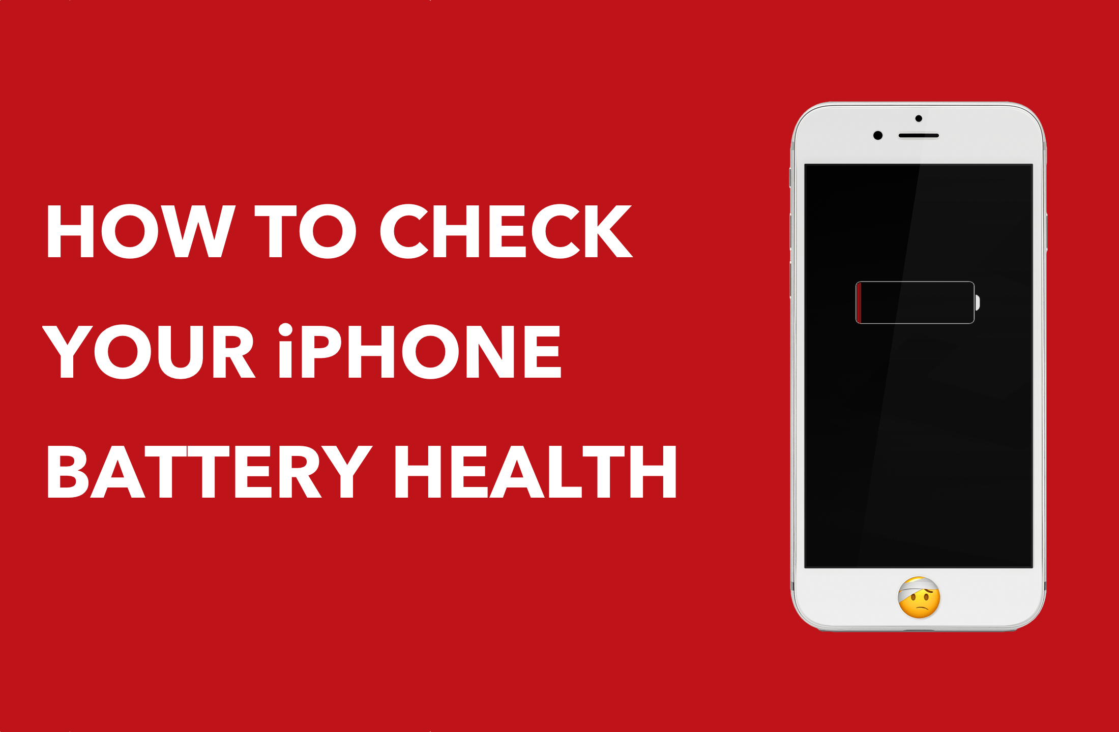 How to check iPhone battery health