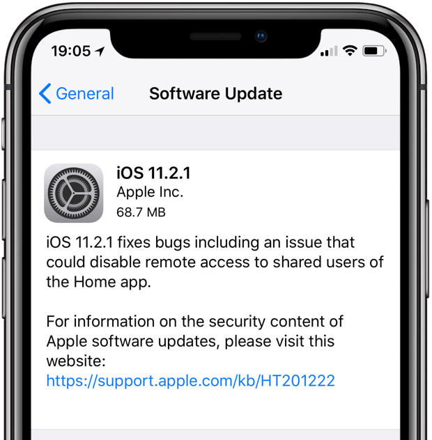 iphone update issues apple issues ios 11 2 1 with homekit fix 2626