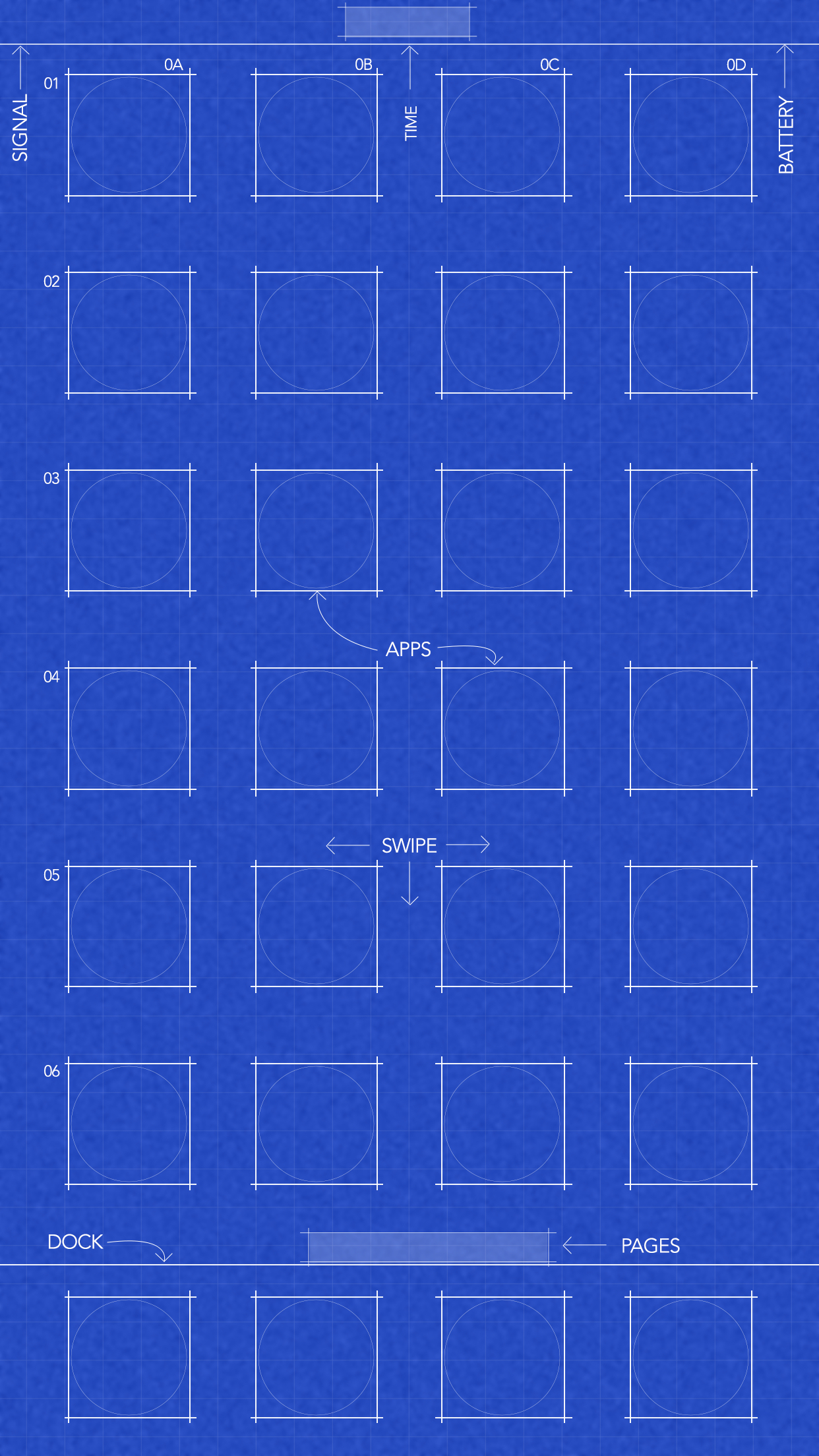 download 6s78 plus blueprint wallpaper
