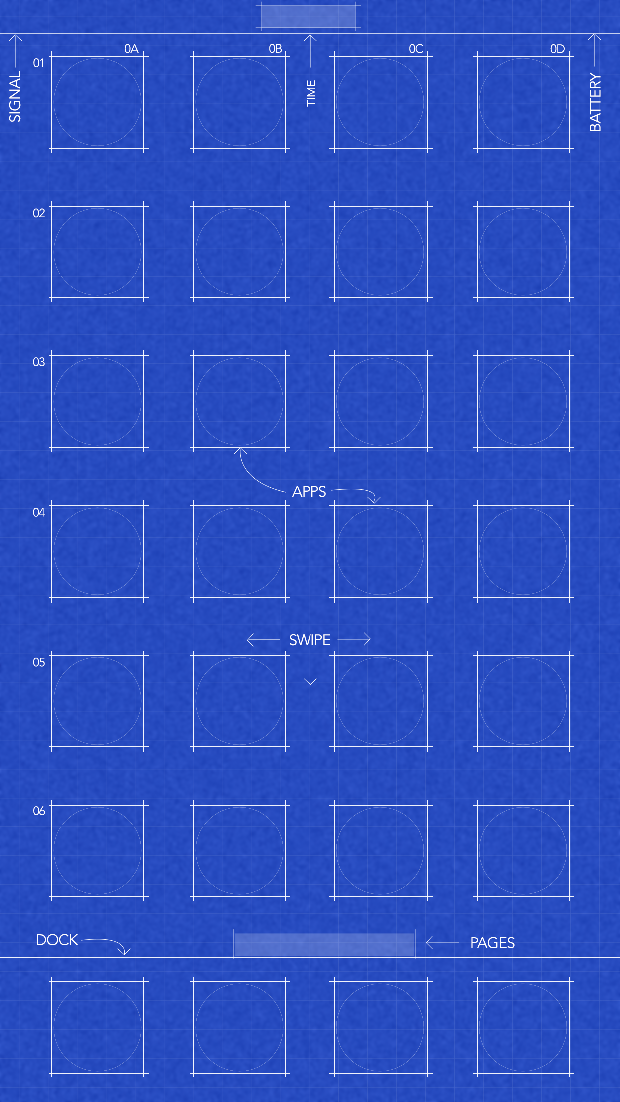 Download: 6/s/7/8 Plus blueprint wallpaper