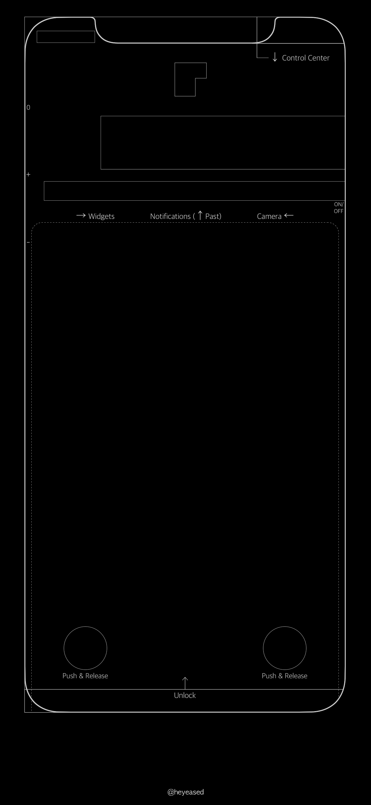 Download: silver blueprint Lock screen